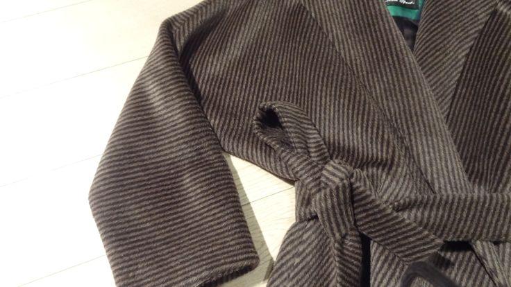 F/W 2015/16 cashmere coat - designed by Iwona Pfont