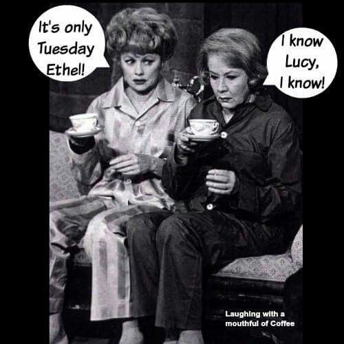 Only Tuesday - Lucy & Ethell
