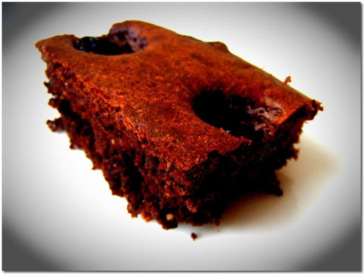 Kakaós-gesztenyelisztes süti