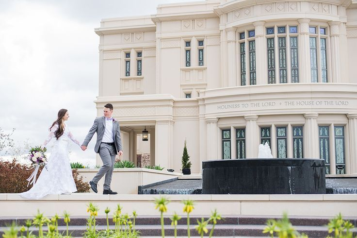 Payson Temple Bridal Session Utah Weddings With Images
