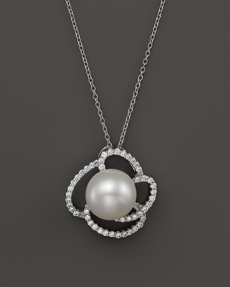 769 best unusual jewelry designs images on pinterest jewerly cultured freshwater pearl pendant necklace with diamonds in 14k white gold 18 bloomingdales aloadofball Image collections