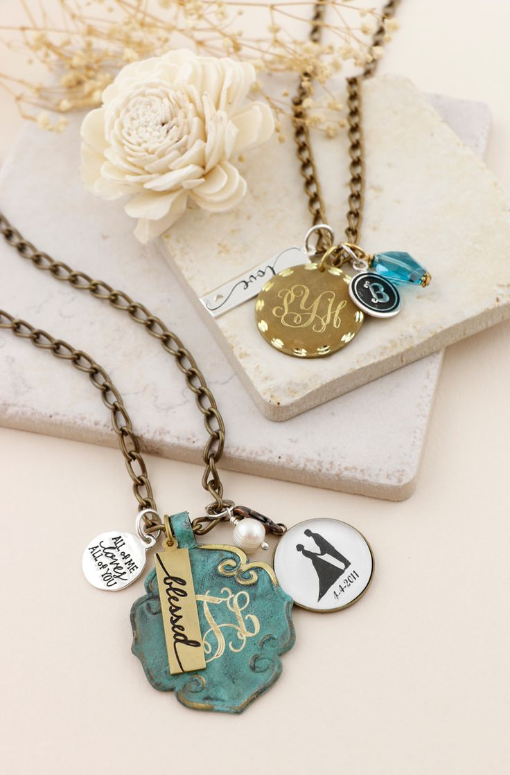 14 best Initial Jewelry Stuff images on Pinterest