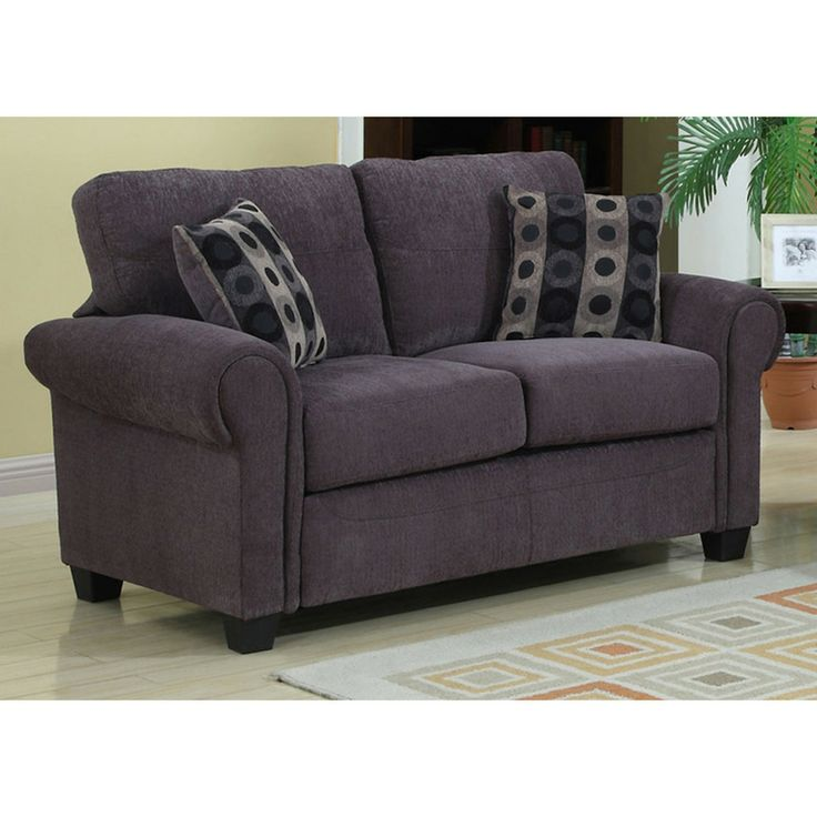 marry graphite grey loveseat