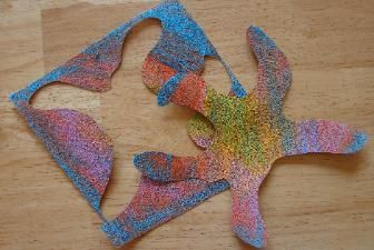 Starfish Craft, Sandy Starfish