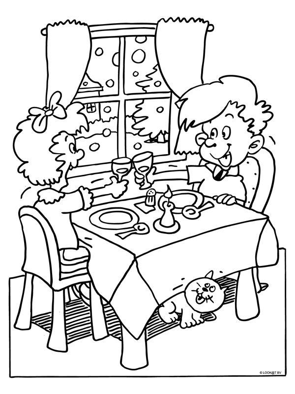 Kleurplaten Eten.Kleurplaten Smakelijk Eten Brekelmansadviesgroep