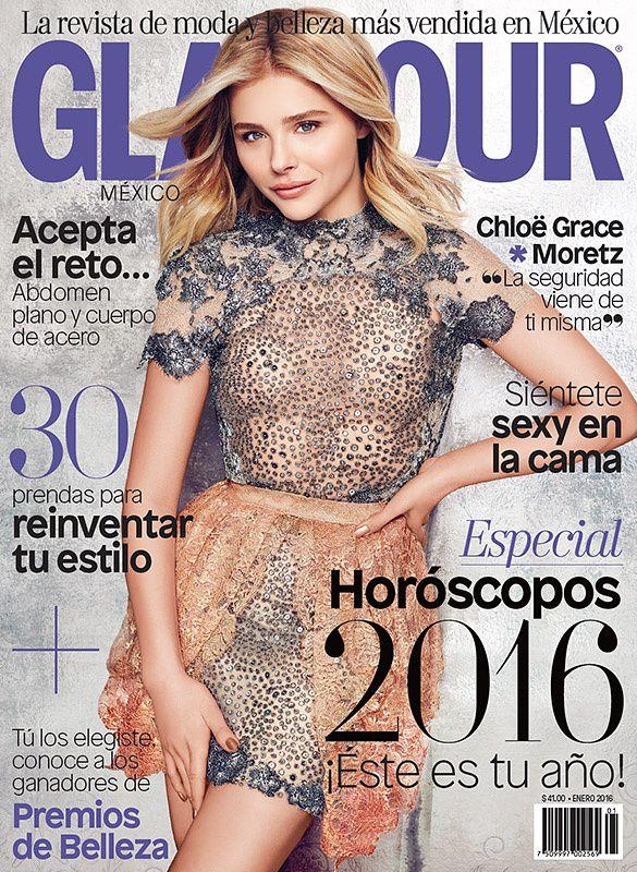 Blog de la Tele: Chloe Moretz luce muy bella en la revista Glamour de México