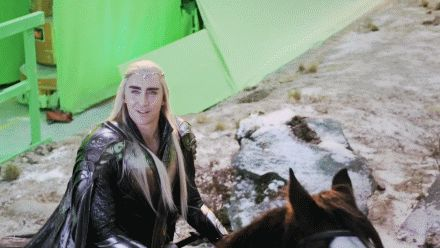 The Hobbit: The Battle of the Five Armies Extended Edition behind the scenes BTS - Lee Pace / Thranduil #funny