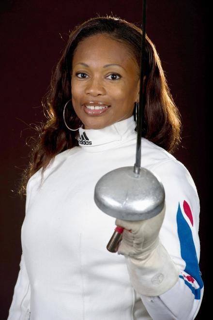 Laura Flessel, escrimeuse française double championne olympique