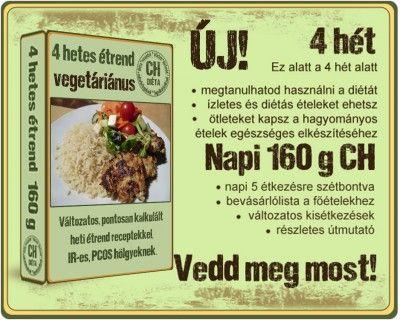 Napi 160 gramm Ch, vegetáriánus