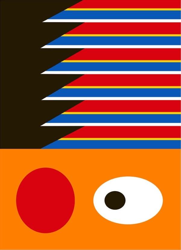Minimalistic Sesame Street on http://blog.thaeger.com