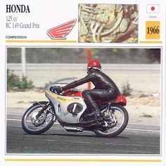 1966 Honda 125 cc RC 149 Grand Prix