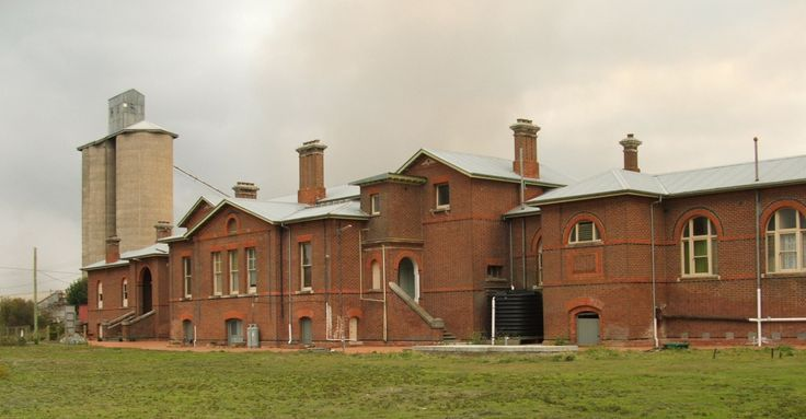 Serviceton Railway Station, Vic, Australia.