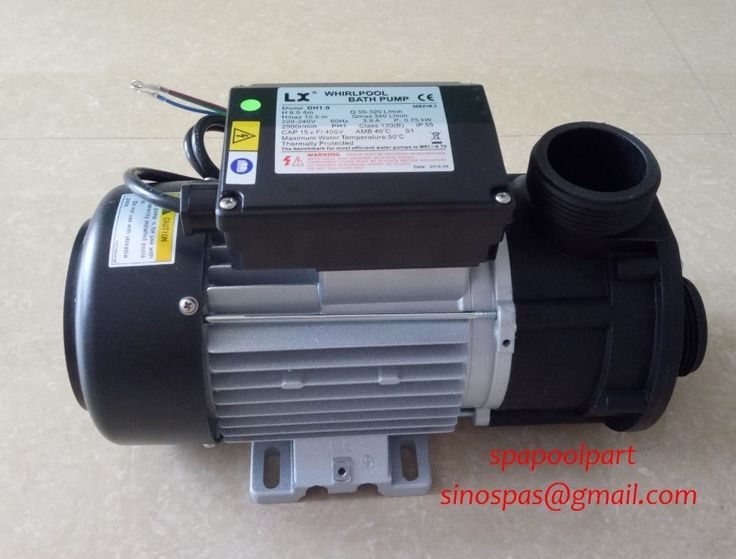 187.04$  Watch now - http://ai09i.worlditems.win/all/product.php?id=32326683877 - WHIRLPOOL LX DH1.0 hot tub spa bath pump 1HP 750W fit spa circulation pump + global lowest price