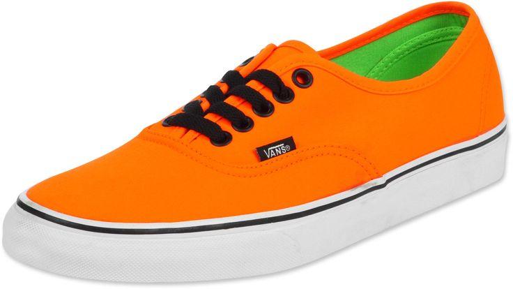 vans in orange