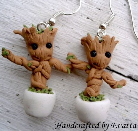 Baby Groot by EviJewelry on Etsy