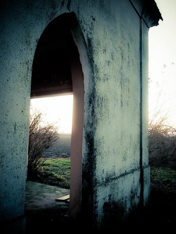 Vista di lato. Pic: Stefania Ciocca #Lomellina #sacro #turismo