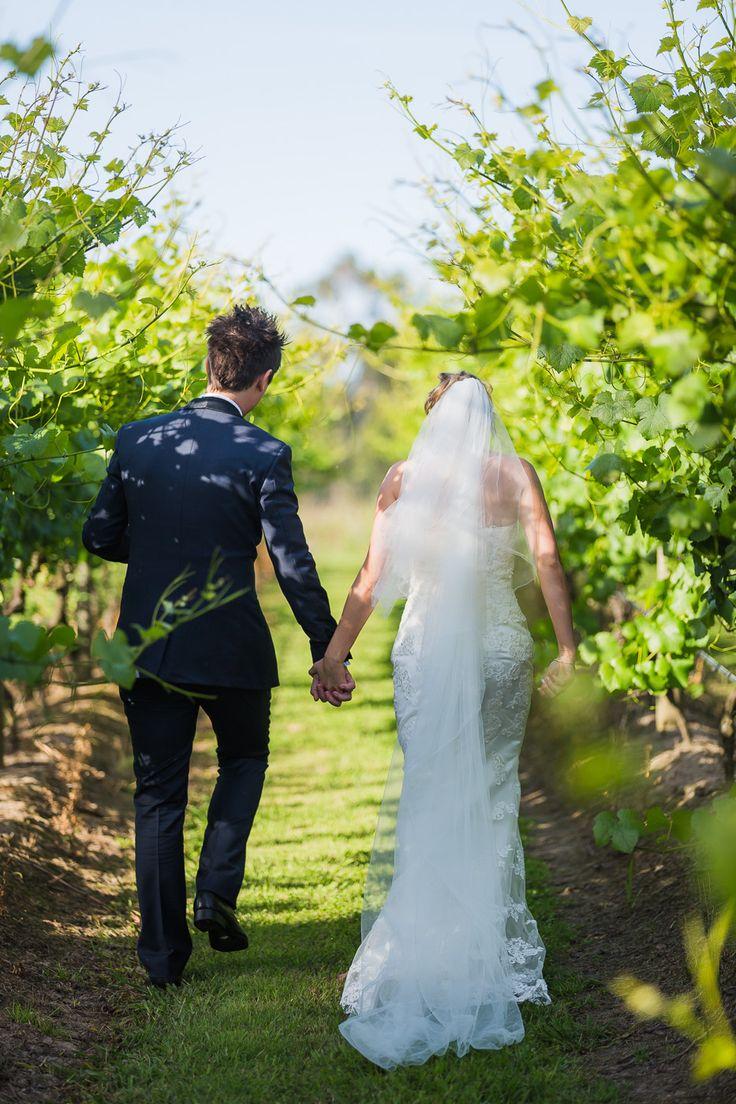 Amy & Shaun, custom made lace sheath high neck wedding dress made by Ziva Wedding Dresses