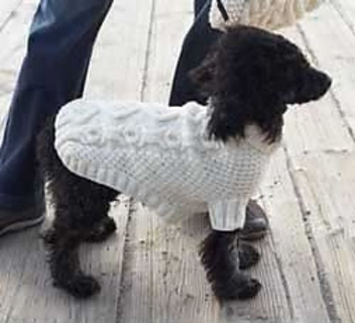 Knitting Pattern For Dog Coat Large : 27 best Dog Knits images on Pinterest Crochet patterns, Dog pattern and Dog...