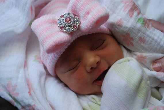Baby girl hat baby girl newborn girl hat infant girl hat hospital