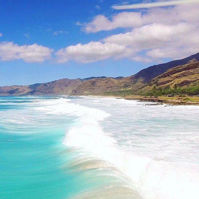 Get me to Oahu stat. Photo   @pilotmadeleine #Oahu #Hawaii #Travel #BikiniHolidays