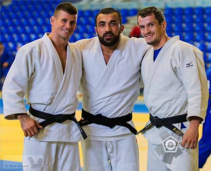 Miklós Ungvári (HUN), Ilias Iliadis (GRE), Sugoi Uriarte (ESP) - European Cup Malaga (2014, ESP) - © Paco Lozano