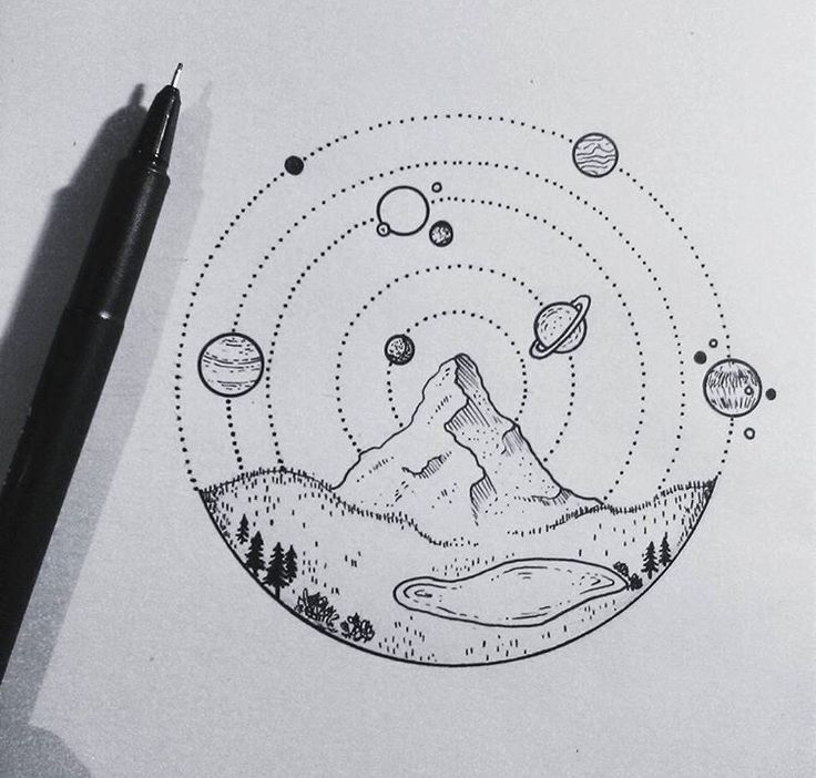 Mountain and Planets