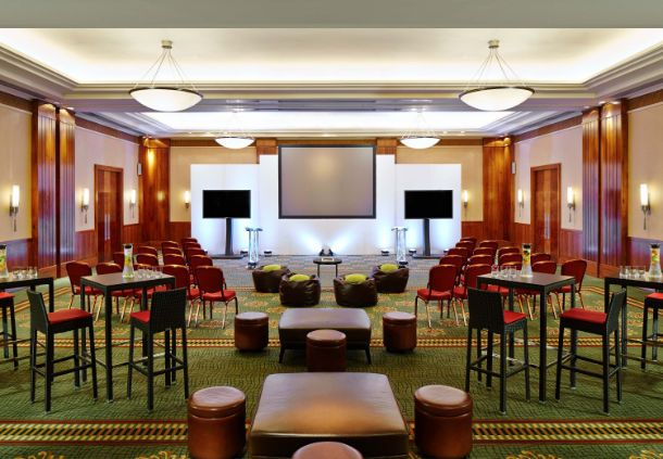 London Marriott Hotel West India Quay Meeting Space Canary Wharf London