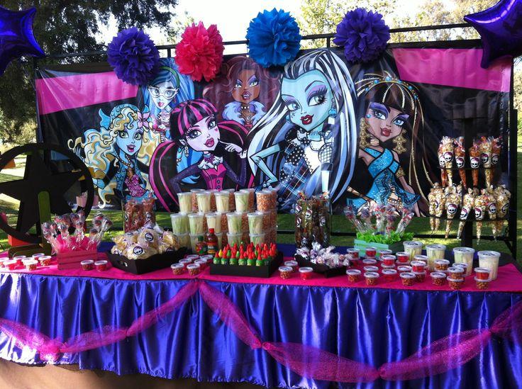 Fiesta para ximena nos toco hacer mesa de dulces y for Mesas de dulces infantiles