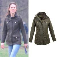 Barbour Ladies Waxed Defence Jacket