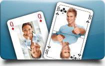 Druck von Spielkarten, Kartenspiele, Skat, Poker, Schafkopf, Quartett