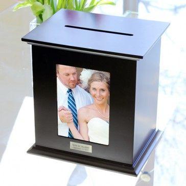 Wedding Card Holder Photo Box #weddingcardholder #personalizedwedding #receptioncardbox #weddingideas #wedding www.MarilynsKeepsakes.com