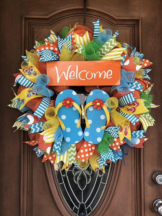 41e71d57308a Flip Flop Wreath