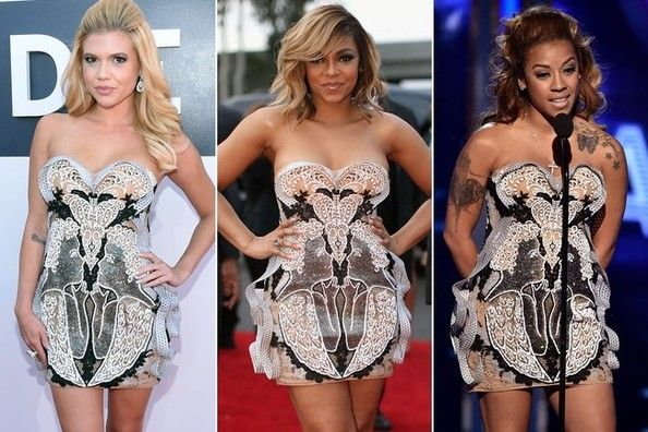 Who Wore It Better: Chanel West Coast, Ashanti or Keyshia Cole?