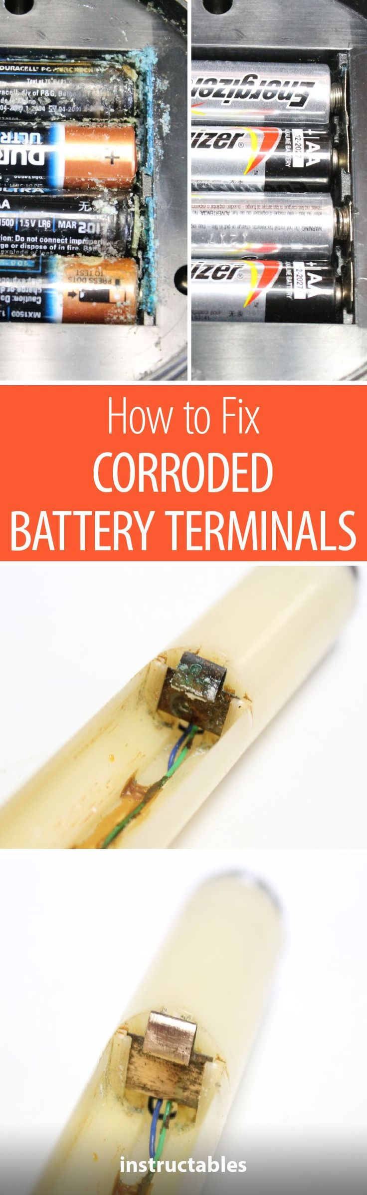 How to Fix Corroded Battery Terminals Fix it, Diy