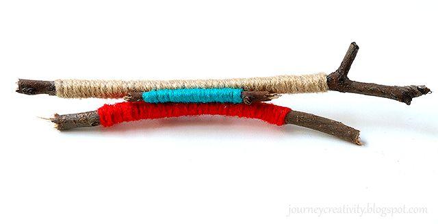 """Twigs wool brooch"" Anna Spathari"