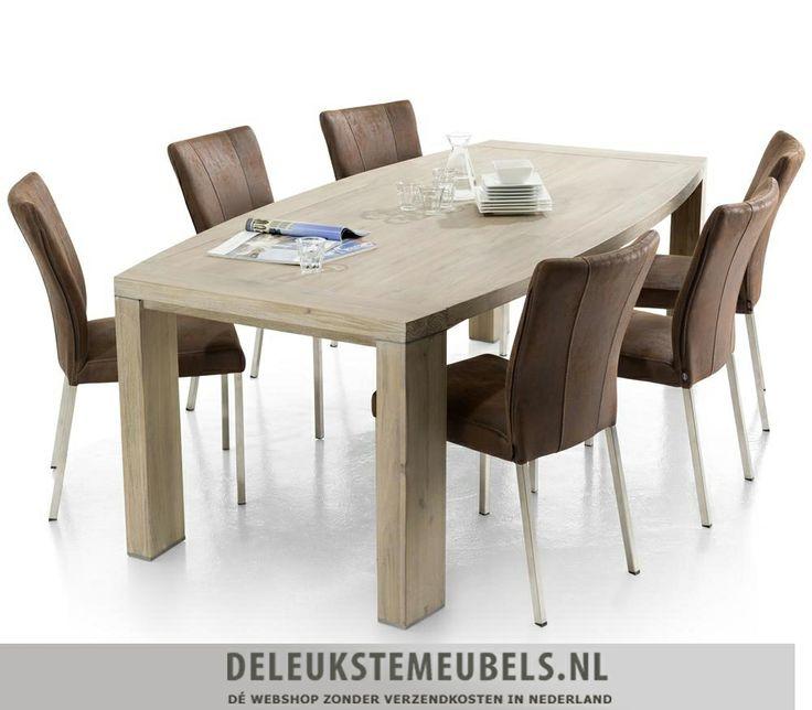 Deze mooie ovale eetkamertafel Buckley van het merk Henders & Hazel is bijzonder! Deze tafel heeft een afmeting van 190x105cm. De metalen accenten in de poten maken deze tafel af en een lust voor het oog!  http://www.deleukstemeubels.nl/nl/buckley-ovale-eettafel-190cm/g6/p51/