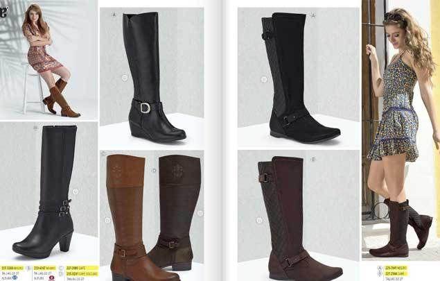 Andrea catalogo de calzado cerrado primavera 2016