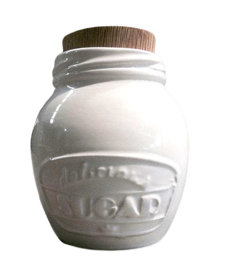 Azucarera Blanca - Decoración Vintage. $60.000 COP. Cómpralo aquí--> https://www.dekosas.com/productos/hogar-decoracion-5am-azucarera-detalle