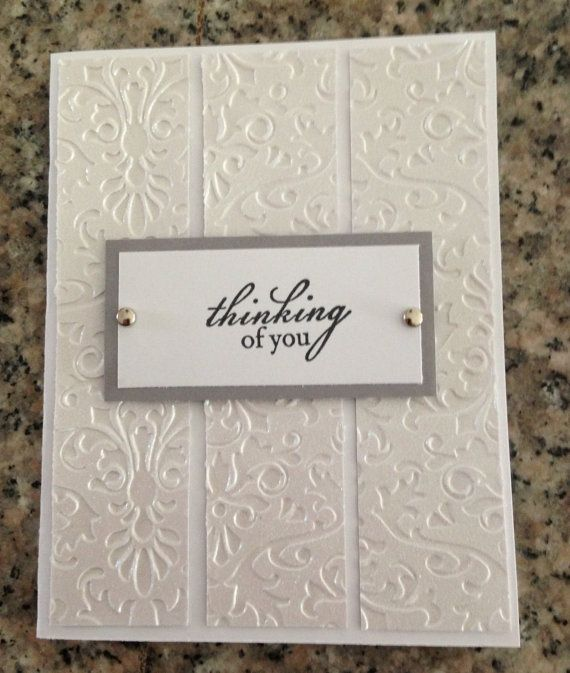 Handmade Sympathy Card on Etsy, $2.00