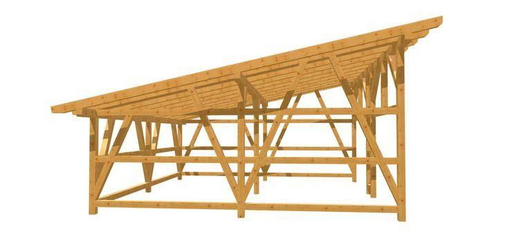 Holz Carport Holz Bauplan De Mit Bildern Uberdachung Bauen Carport Holz Carport Selber Bauen