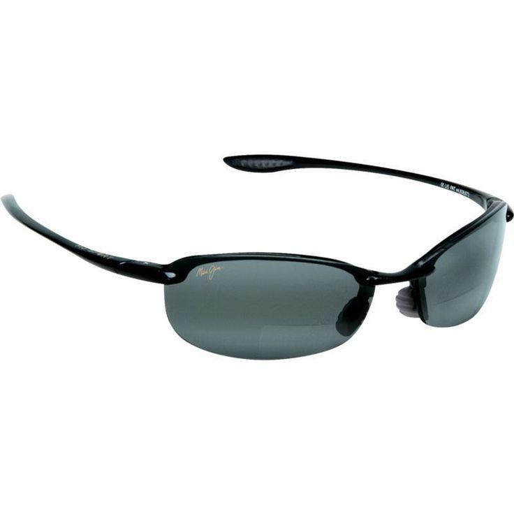 Maui Jim Makaha Reader +200 Polarized Sunglasses, Black