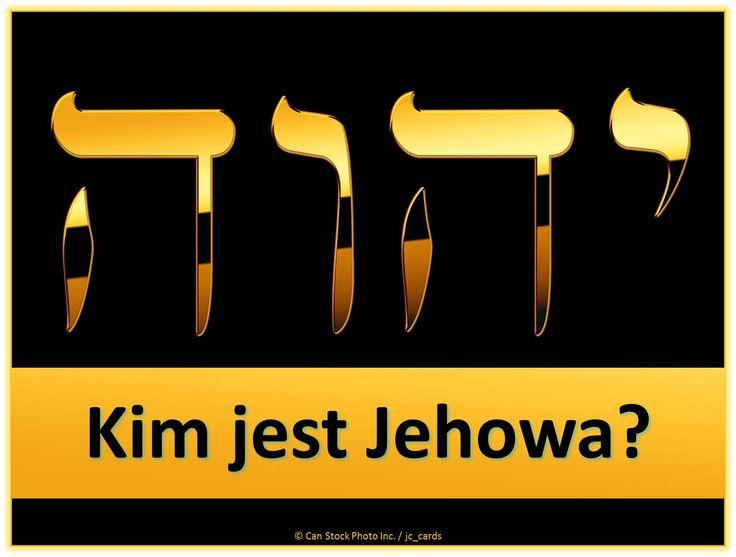 Jehowa jest unikalne imię Stwórcy, prawdziwego Boga całej ziemi, tak jak On objawił się w Biblii. Jakie jest znaczenie tej nazwy? Dowiedz się tutaj:  https://www.jw.org/pl/nauki-biblijne/pytania/kim-jest-jehowa/ (Jehovah is the unique name of the Creator, the true God of the whole earth, as He has revealed Himself in the Bible. What is the significance of the name? Find out here.)
