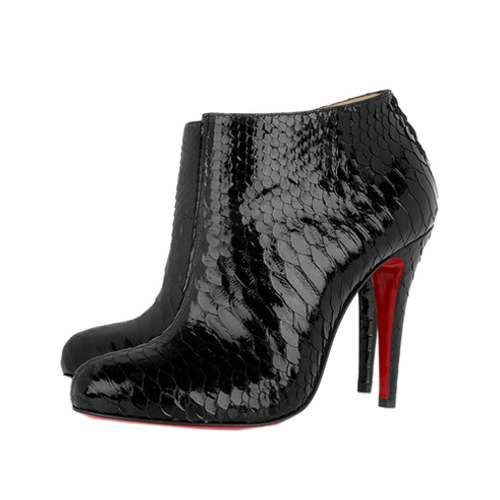 Love Christian Louboutin Black?Brown Bridget Lace Leopard Ankle Boots,  www.louboutini.us.pn