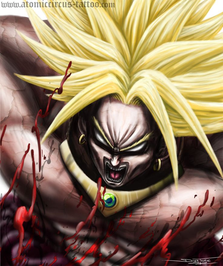 Broly from DragonBall by on