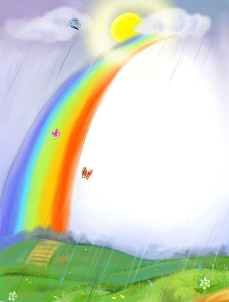 Загадки природы: перевернутая радуга