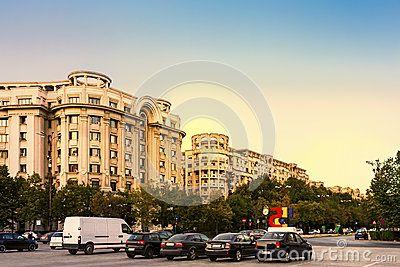 Rush Hour Bucharest Romania