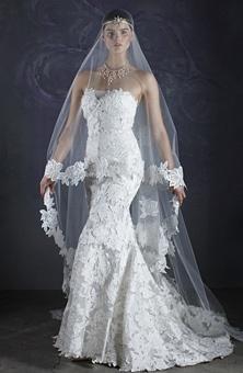 Brides Magazine: St. Pucchi : Style No. 506 : Wedding Dresses Gallery