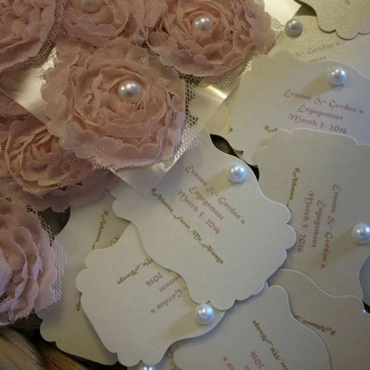 Flower Favor Koufeta Bomboniere Wedding Pearl Accent Favor Bridal Shower Baby Shower Baptism