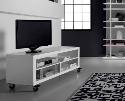 Mesa De Tv Rack. Con Ruedas Con Freno Oferta $828.- - $ 828,00