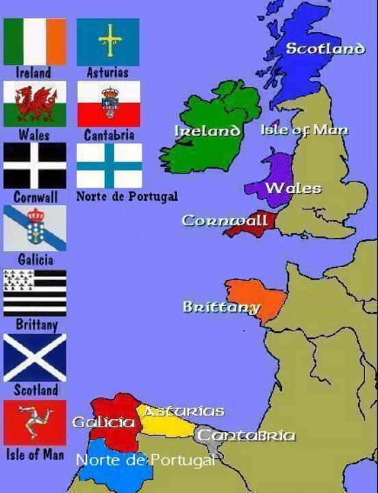 Celtic nations...the original Hebrews.